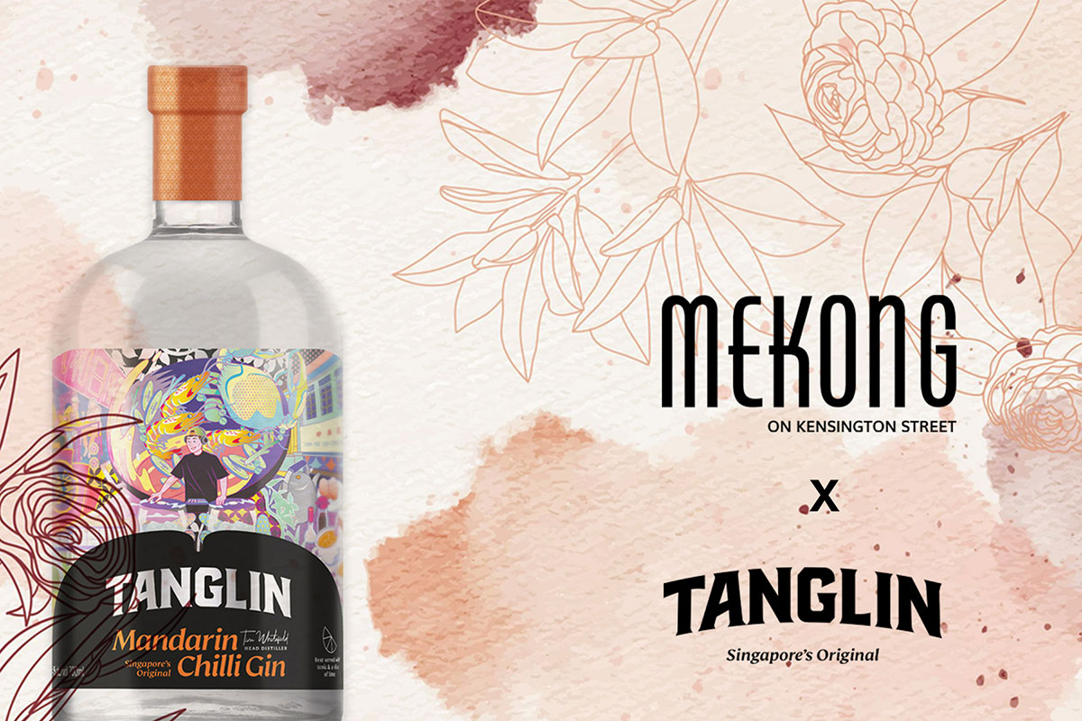 Mekong X Tanglin Gin Dinner event